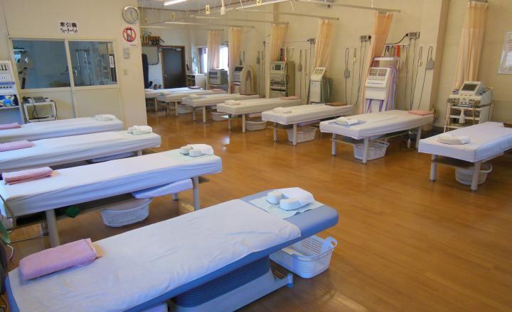 治療室の風景
