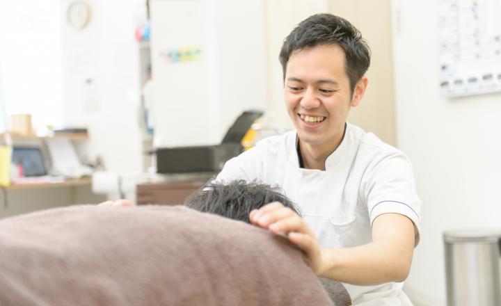 患者様との距離が近く信頼関係を築きながら治療していきます
