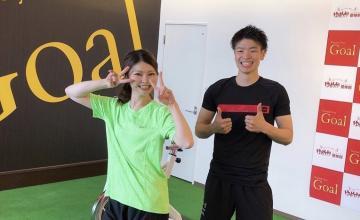 佐賀県NO.1パーソナルトレーニングジムGOALは喜びと感動を売っています♪
